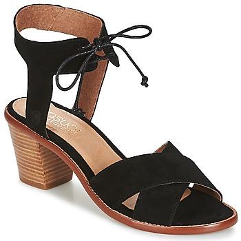Zapatos Mujer Sandalias Casual Attitude ITELO Negro