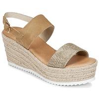 Zapatos Mujer Sandalias Casual Attitude INUIL Dorado / Marrón