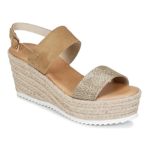 Mujer Sandalias Attitude Inuil DoradoMarrón Casual Zapatos Kc3u5JF1Tl