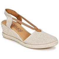 Zapatos Mujer Sandalias Casual Attitude IPOP Dorado