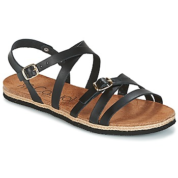 Zapatos Mujer Sandalias Casual Attitude ILMEM Negro