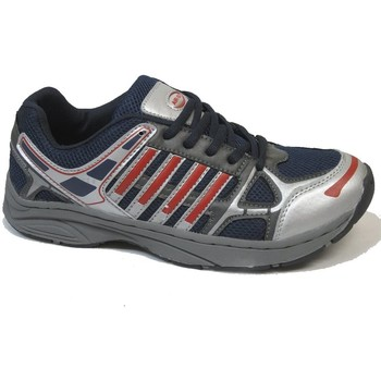 Zapatos Hombre Fitness / Training Selquir DEPORTIVO 7-618R GRIS-MARINO-ROJO Gris