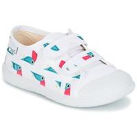 Zapatos Niña Zapatillas bajas Citrouille et Compagnie GLASSIA Blanco