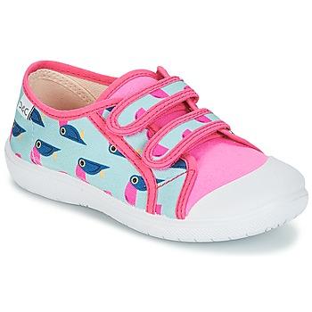 Zapatos Niña Zapatillas bajas Citrouille et Compagnie GLASSIA Multicolor