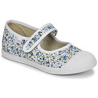 Zapatos Niña Bailarinas-manoletinas Citrouille et Compagnie APSUT Azul / Blanco