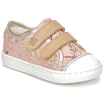 Zapatos Niña Zapatillas bajas Citrouille et Compagnie INACUFI Rosa / Oro