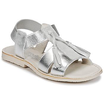 Zapatos Niña Sandalias Citrouille et Compagnie INAPLATA Plata