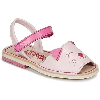 Zapatos Niña Sandalias Citrouille et Compagnie ILOUDFI Rosa