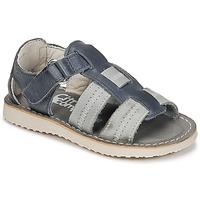 Zapatos Niño Sandalias Citrouille et Compagnie IOUTIKER Azul / Gris