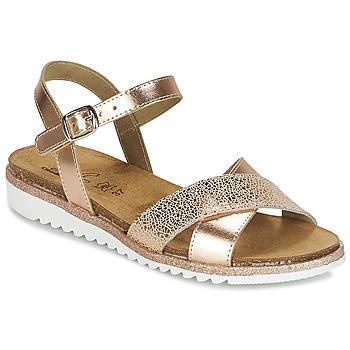 Zapatos Niña Sandalias Citrouille et Compagnie GAUFRETTE Bronce