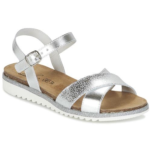 Zapatos Niña Sandalias Citrouille et Compagnie GAUFRETTE Plateado