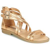 Zapatos Niña Sandalias Citrouille et Compagnie IMOURAT Oro