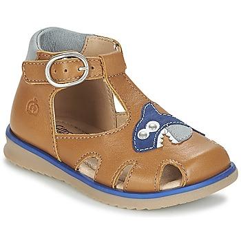 Zapatos Niño Sandalias Citrouille et Compagnie ISKILANDRO Marrón / Azul
