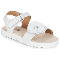 Zapatos Niña Sandalias Citrouille et Compagnie ILODO Blanco