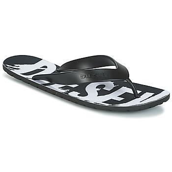 Zapatos Hombre Chanclas Diesel SPLISH Negro