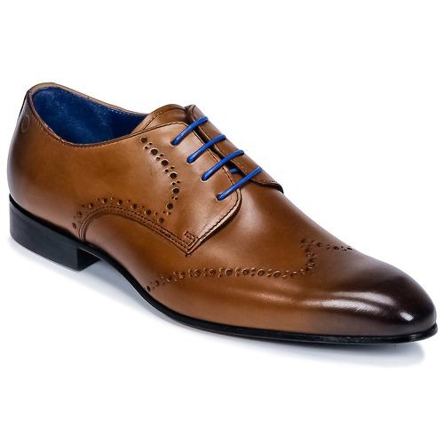 Zapatos especiales para hombres y mujeres Carlington FRUTO Marrón