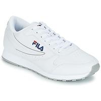 Zapatos Hombre Zapatillas bajas Fila ORBIT LOW Blanco