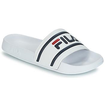 Zapatos Hombre Chanclas Fila MORRO BAY SLIPPER Blanco