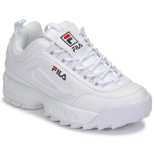 Zapatos Mujer Zapatillas bajas Fila DISRUPTOR LOW WMN Blanco
