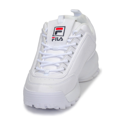 Zapatos Fila Blanco Wmn Disruptor Mujer Bajas Low Zapatillas wOn0m8vN