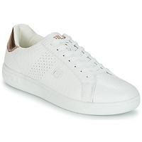 Zapatos Mujer Zapatillas bajas Fila CROSSCOURT 2 F LOW WMN Blanco / Rosa / Gold