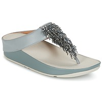 Zapatos Mujer Chanclas FitFlop CHA-CHA TOE-THONG SANDALS CRYSTAL Azul