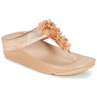 Zapatos Mujer Chanclas FitFlop BOOGALOO TOE POST Rosa / Gold