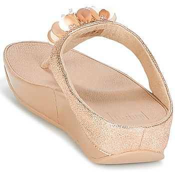 FitFlop BOOGALOO TOE POST Rosa / Gold