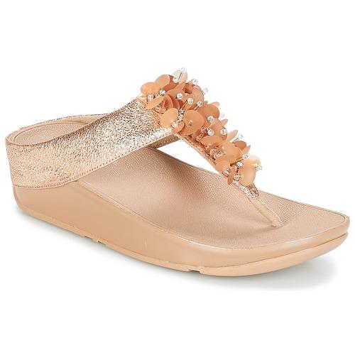Zapatos de mujer baratos zapatos de mujer Zapatos especiales FitFlop BOOGALOO TOE POST Rosa / Gold