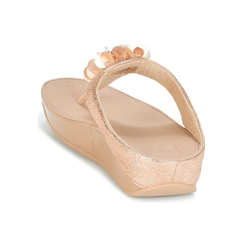 Chanclas Post Zapatos Boogaloo Mujer Toe RosaGold Fitflop LVpGMqSUz