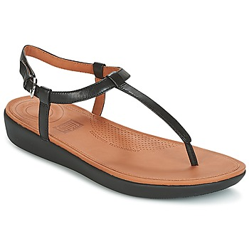Zapatos Mujer Chanclas FitFlop TIA TOE THONG SANDALS Negro