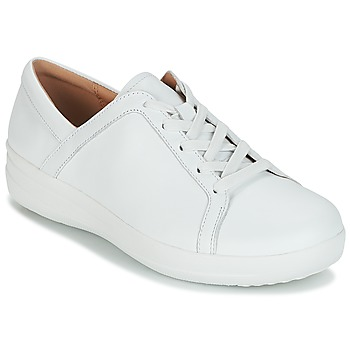 Zapatos Mujer Zapatillas bajas FitFlop F-SPORTY II LACE UP SNEAKERS Blanco