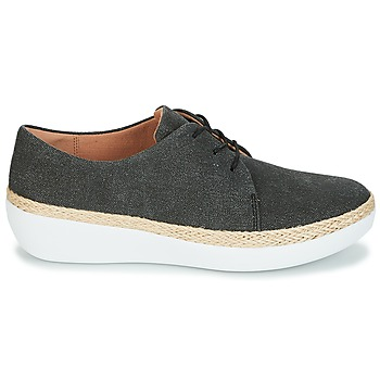 FitFlop SUPERDERBY LACE UP SHOES Negro