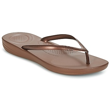 Zapatos Mujer Chanclas FitFlop IQUSHION ERGONOMIC FLIP FLOPS Bronce