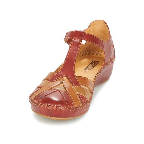 Sandalias Mujer Pikolinos 655 Zapatos PVallarta Marrón dxWQorCBeE