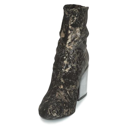 Now Negro Zapatos Luna Mujer Botines XTkZiOPu