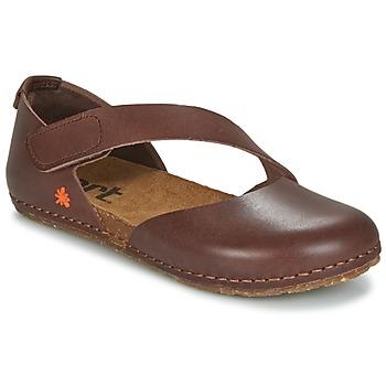 Zapatos Mujer Bailarinas-manoletinas Art CRETA 442 Marrón
