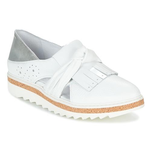 Tiempo limitado especial Regard RASTAFA Blanco / Plata - Envío gratis Nueva promoción - Zapatos Mocasín Mujer