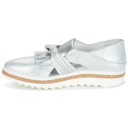 Regard Mujer Zapatos Mocasín Plateado Rastafa cK1JlF