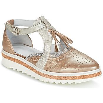 Zapatos Mujer Derbie Regard RASTANU Bronce