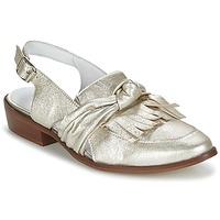 Zapatos Mujer Mocasín Regard RELABI Dorado