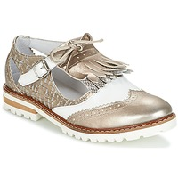 Zapatos Mujer Derbie Regard RETAZO Bronce