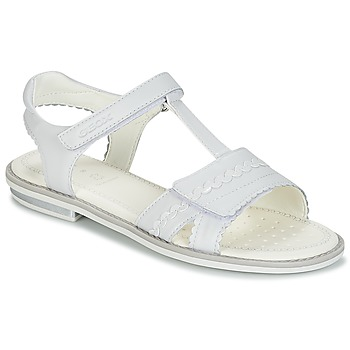 Zapatos Niña Sandalias Geox J S.GIGLIO A Blanco