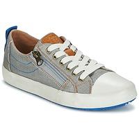Zapatos Niño Zapatillas bajas Geox J ALONISSO B. D Gris / Azul