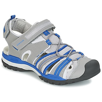 Zapatos Niño Sandalias de deporte Geox J BOREALIS B. C Gris / Azul