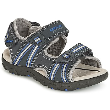 Zapatos Niño Sandalias de deporte Geox J S.STRADA A Marino
