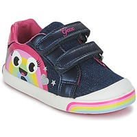 Zapatos Niña Zapatillas bajas Geox B KILWI G. C Jeans / Rosa