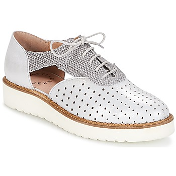 Zapatos Mujer Derbie Muratti AMA Plateado