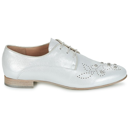 Derbie Mujer Zapatos Adja Plateado Muratti CothBQrdxs