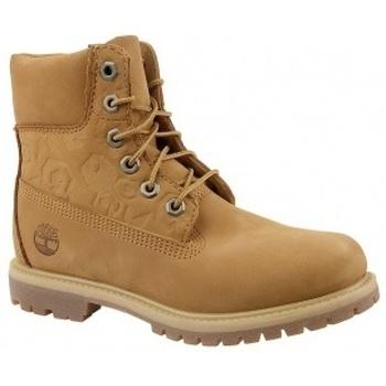 Zapatos Mujer Botas de caña baja Timberland 6 In Premium Boot W marrón